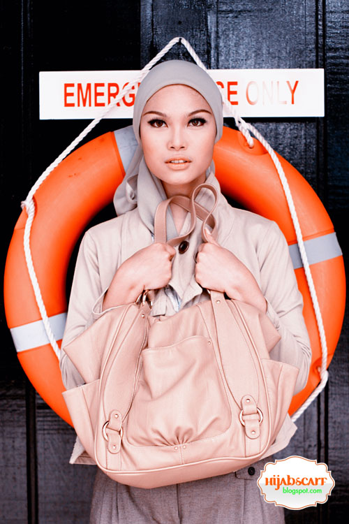 Cotton Trench Jacket - Hijab Scarf