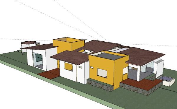 Diseño General Conjunto Residencial Shaik Villavicencio Colombia