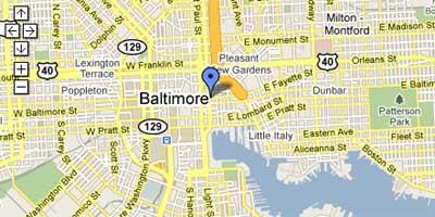 Maps Mania: Baltimore Snow on Google Maps