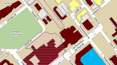 Campus Map Texas Am.Maps Mania Texas A M University On Google Maps