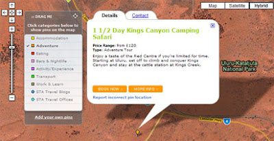 screenshot of mapmyadventure