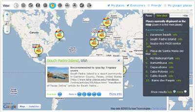 Tripsay map