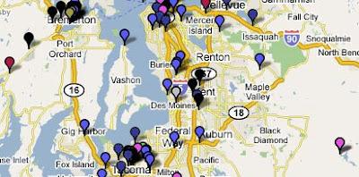 Earmarks Map