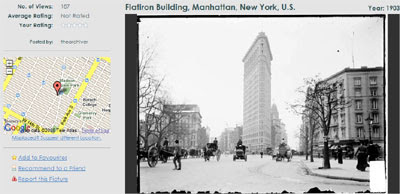 The Flat Iron Building in 1903