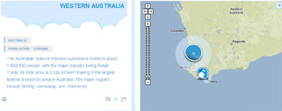 New Google Map for Australia