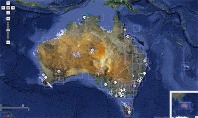 Maps Mania Radar Weather Overlay For Australia - Earth map satellite