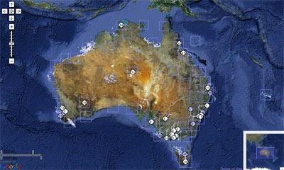 Maps Mania Radar Weather Overlay For Australia
