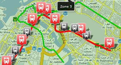 Maps Mania: Mapping the Dubai Metro