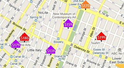 Roomatlas Plots Over 53 Thousand Hotels On Google Maps With Live Pricing And Availability The Map Also Includes Tripadvisor Reviews Street