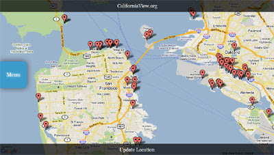 Maps Mania: California Parks, & Boating Map on
