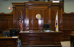 Courtroom in Knox County Courthouse