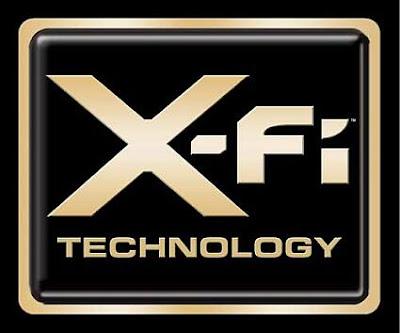 Logo del X-Fi de Creative