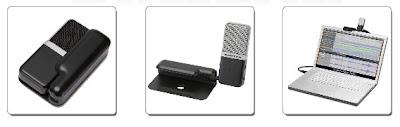 el primer micrófono de bolsillo y plegable: Go Mic