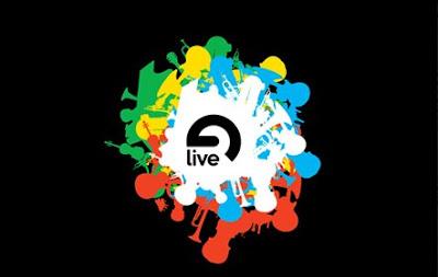 Logo genérico de todas las versiones del software para producción musical Ableton Live