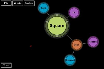 Interfaz gráfica de usuario de esta aplicación