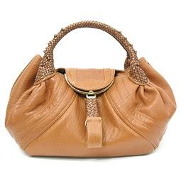 Designer Handbags and Muses: Fendi Spy Bag Tan