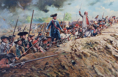 american revolution and founding era why was the battle of bunker  today marks the anniversary of the opening shots in the battle of bunker hill the battle waged in of 1775 was actually fought on breed s hill