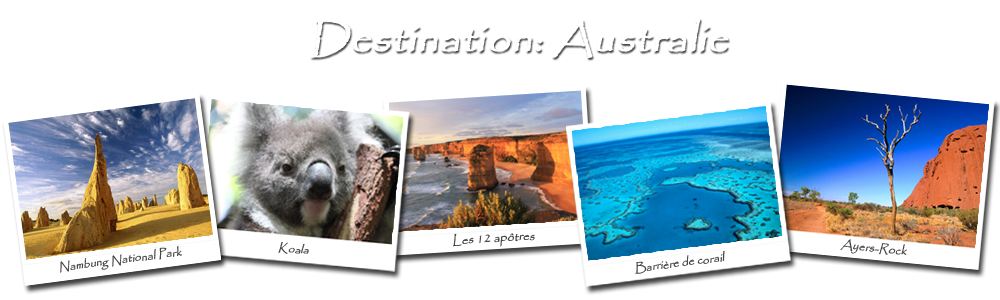 Destination : Australie