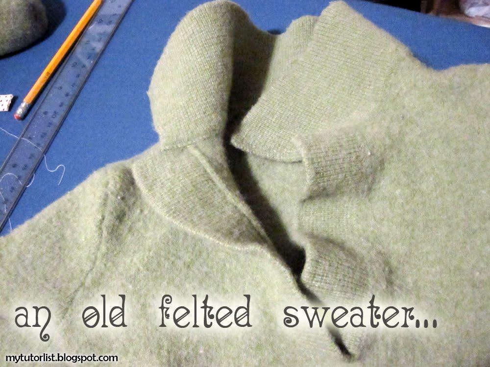 Upcycled Fingerless Gloves Tutorial : Behind Mytutorlist.com