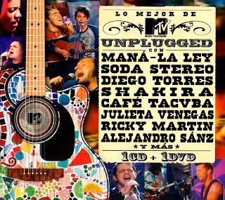Lo Mejor De MTV Unplugged latino caratulas ipod portada español