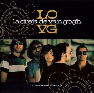 A Las Cinco En El Astoria Caratulas LODVG La Oreja de Van Gogh Portada nuevo disco ipod