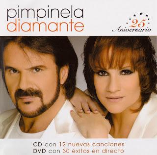Pimpinela Diamante caratulas del nuevo disco, portada, arte de tapa, cd covers, 25 aniversario