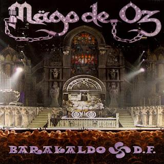Mago de Oz Barakaldo D.F. caratulas del nuevo disco, portada, arte de tapa, cd covers