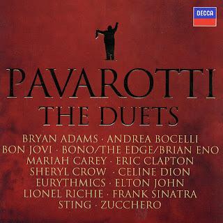 Luciano Pavarotti The Duets caratulas del nuevo disco, portada, arte de tapa, cd covers, videoclips, letras de canciones, fotos, biografia, discografia, comentarios, enlaces, melodías para movil