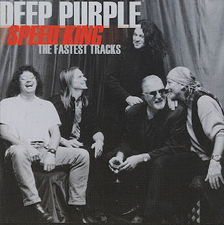 caratula cd cover Deep Purple - Speed King The Fastest Tracks pochette, tapas, portada