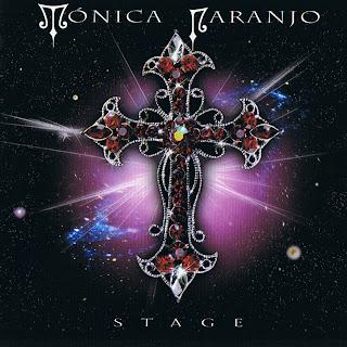 Monica Naranjo, Stage, Caratulas, Tapas, Portada, sleeve