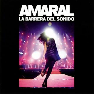Caratula Amaral La Barrera del Sonido Nuevo Disco CD DVD Blueray
