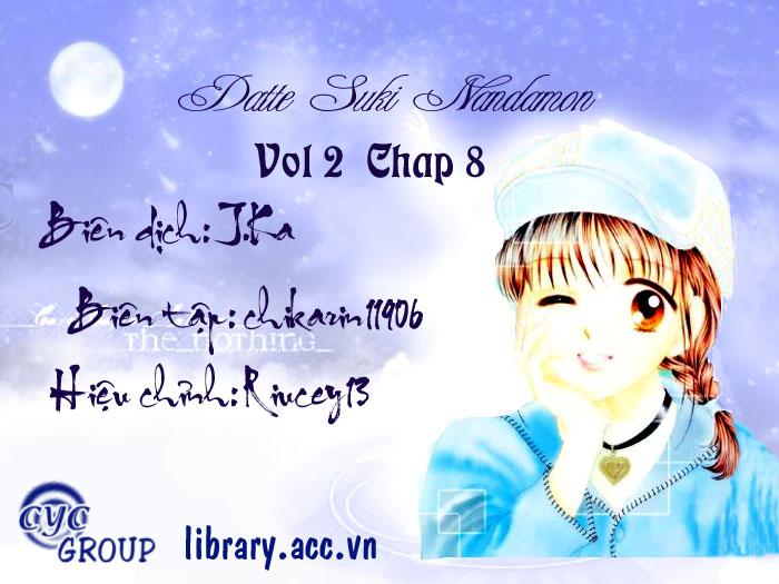 Datte Suki Nandamon chap 8 - Trang 2