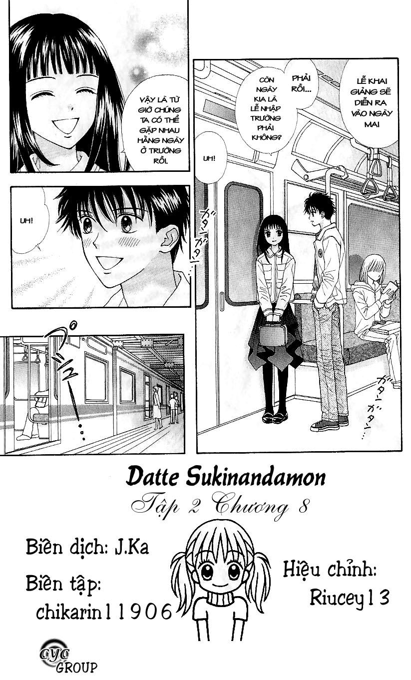 Datte Suki Nandamon chap 8 - Trang 4
