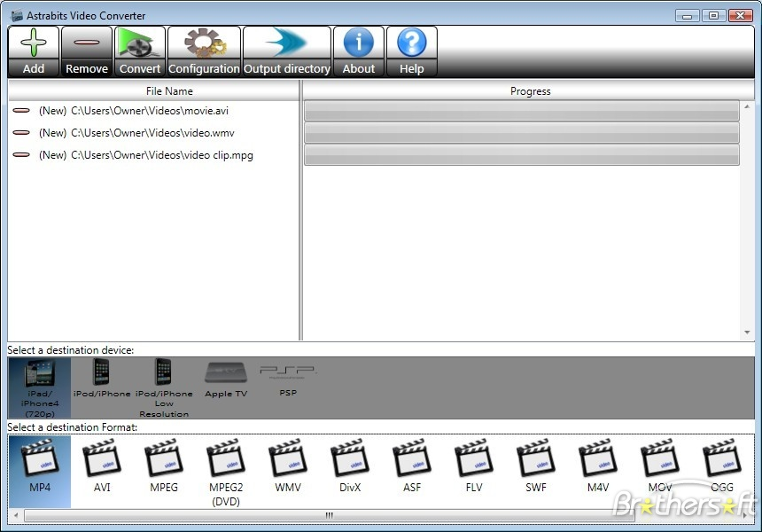 Astrabits video converter 1.0