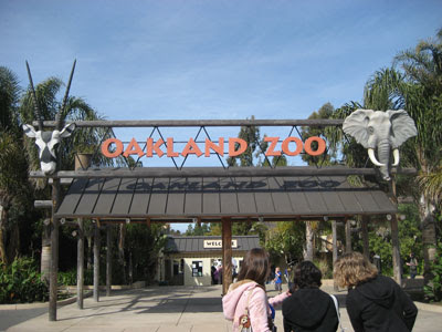 Oakland Zoo gate