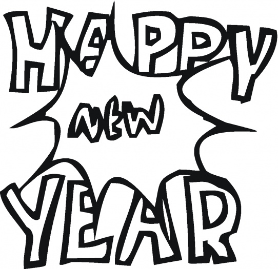 new year free coloring pages title=