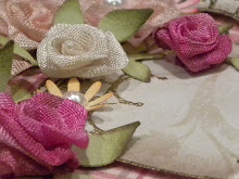 Find my vintage seam binding rose tutorial on Youtube here: