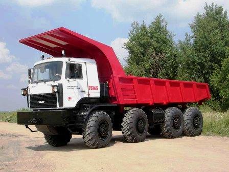 veicoli pesanti volat  biellorussia MZKT-75165