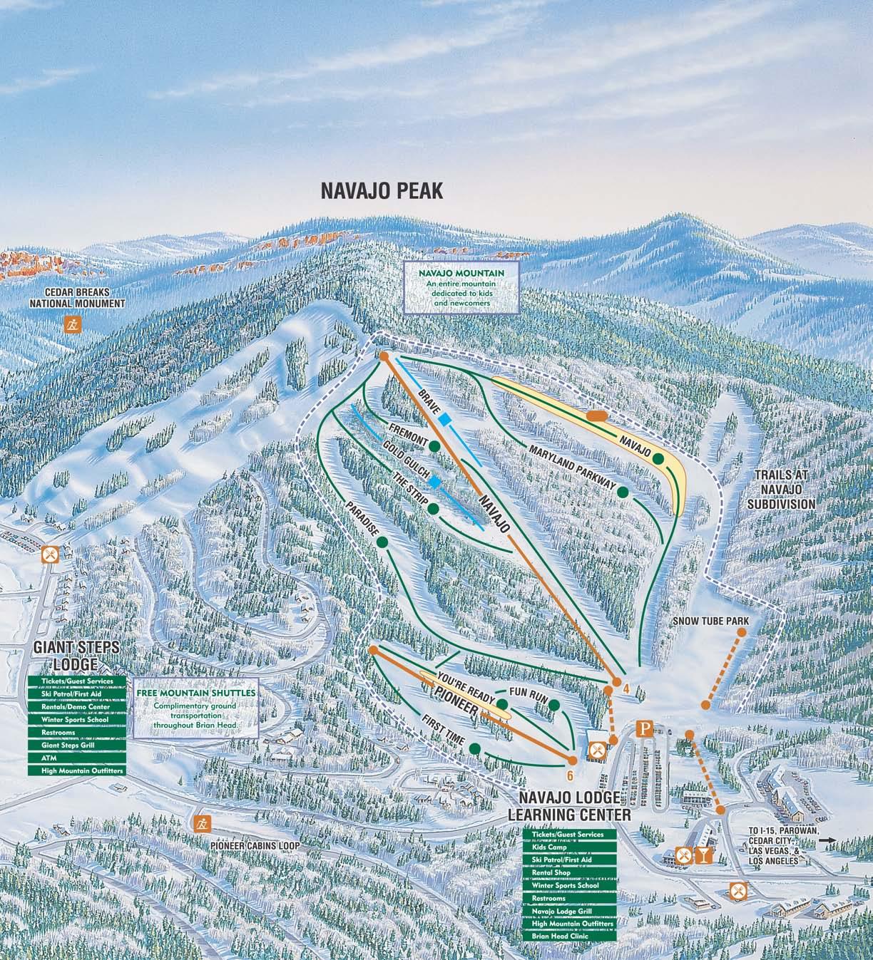 trail maps alta ski resort trail map