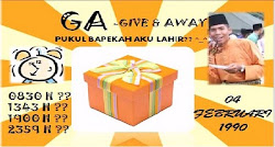 "teka waktu kelahiran ""fathaka""- give & away"