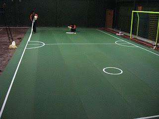 Instalasi Lapangan Sepak Takraw