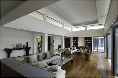 contemporary asian villa