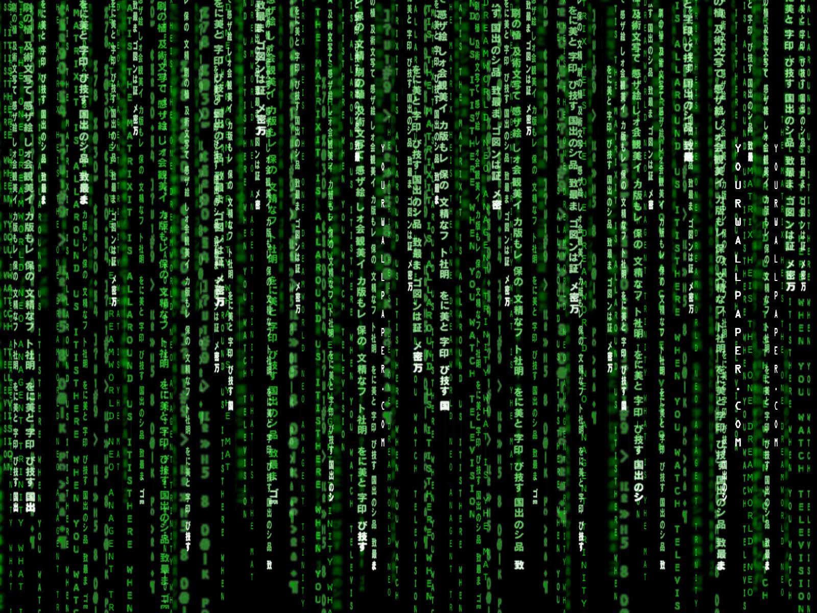 Matrix film like effects using c programme punkbite if you seen that movie you may know of its famous effects that is green characters pouring down to the black background screen baditri Images