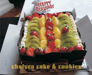 CheRy Cakes & Cookies: birthday cake bareng (black forest fruitty)