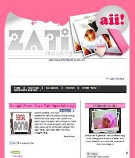 gambar blog yang comel dan pink