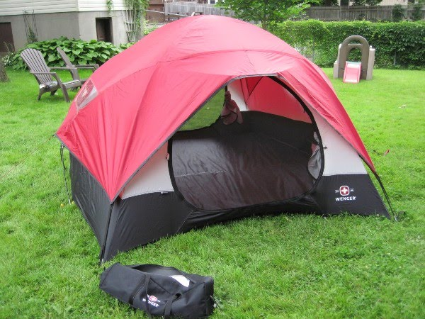 So I looked on Kijiji and CraigsList and found someone in Kitchener (near Victoria Park) who was asking a mere $30 for this tent. & Intelligent Falling: New tent