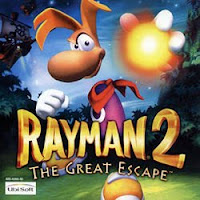 Rayman 2, iphone, video, game, screen, cover