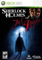 Sherlock Holmes, Jack the Ripper, box, art, cover, image