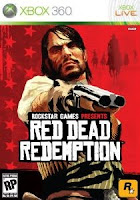 Red Dead Redemption, game, xbox, box, art, screen, images