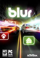 Blur, game, screen, image, box, art